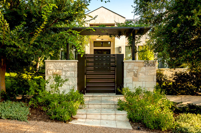 Regents park for House gate design architecture