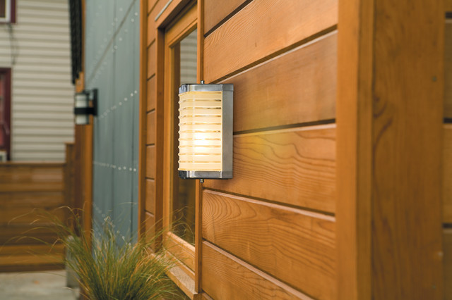 Rejuvenation exterior outdoor lighting modern for Mid century porch light