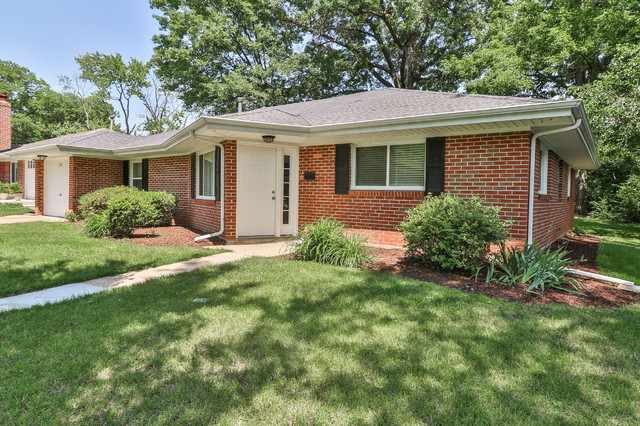 Remodeled Ranch Traditional Exterior St Louis By
