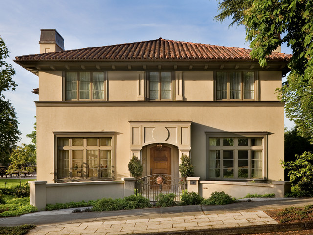 Renaissance Revival Residence Traditional Exterior Seattle By Stuart Silk Architects