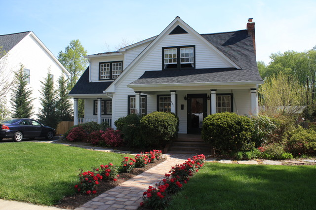 renovated cape cod traditional exterior dc metro