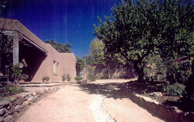 Renovation addition in northern new mexico rustic for Rustic home albuquerque