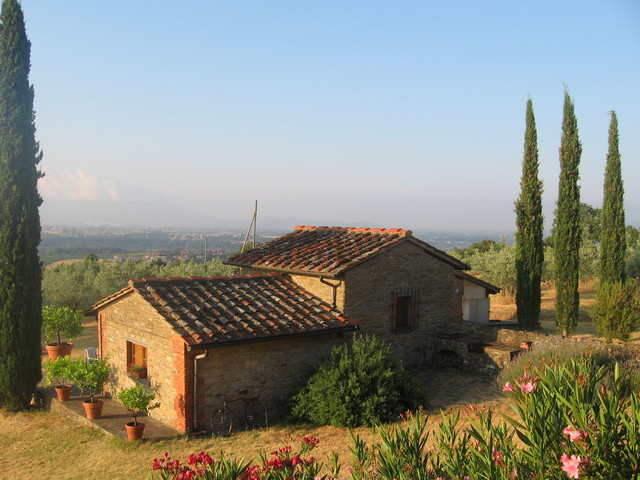 Renovation Of A Late 1600 Stone Country House In Tuscany, Italy  Mediterranean Exterior