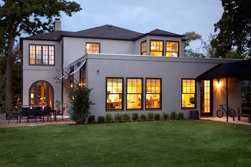 What Is The Beautiful Grey Stucco Color