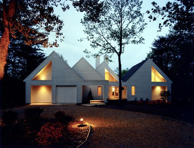 Repetition House contemporary-exterior