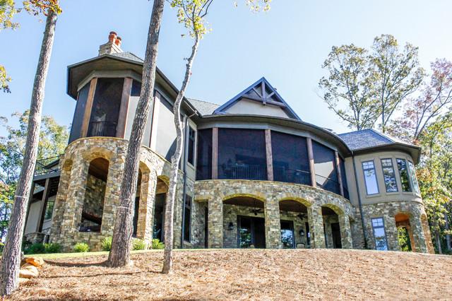 Reserve at Lake Keowee rustic-exterior