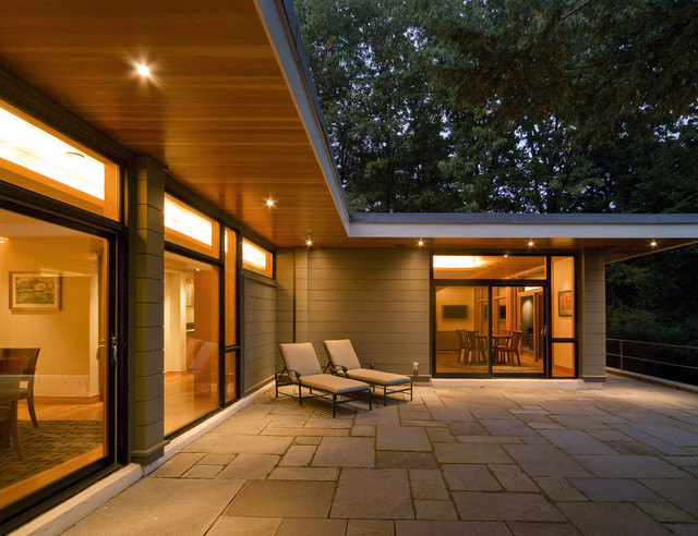 Exterior Soffit Lighting | Houzz