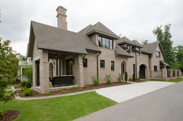 Residence at the ledges traditional exterior for Brammer kitchen cabinets