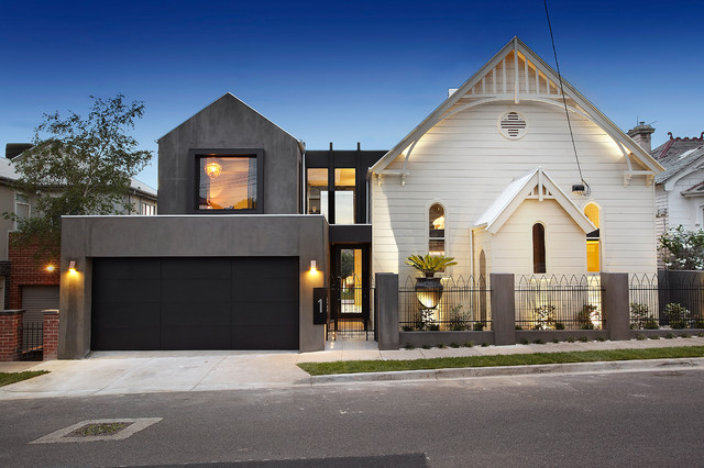 RESIDENTIAL CHURCH CONVERSION Contemporary Exterior