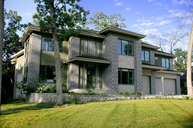 Residential projects in Wisconsin contemporary-exterior