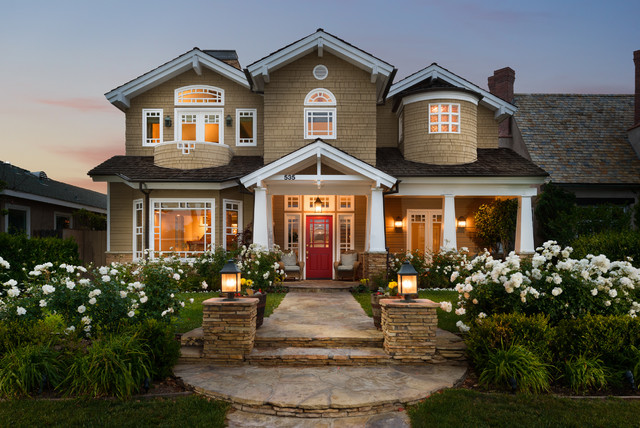 Residential property craftsman exterior los angeles for House sale los angeles