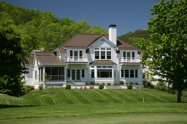 Resort home fairway cottage 9 the greenbrier sporting for Architectural exterior design virginia beach