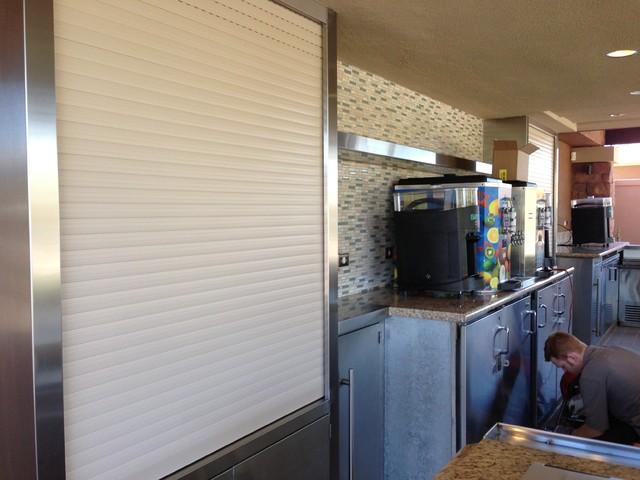 Resort Outdoor Bar TV Enclosure - Transitional - Exterior - phoenix ...