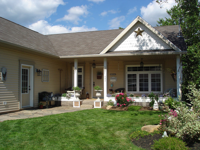Restyled Home traditional-exterior