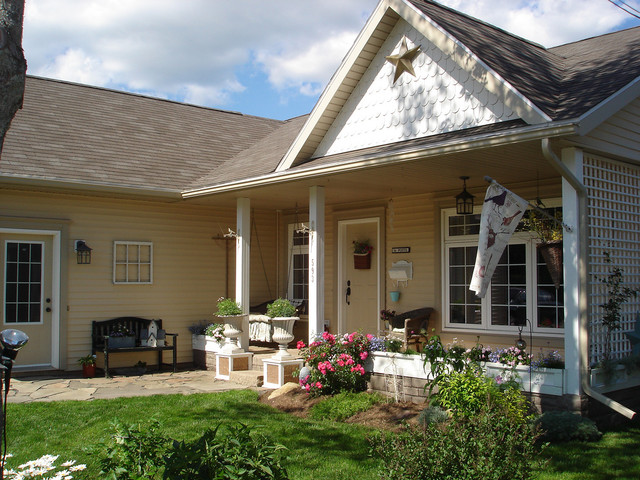 traditional exterior by Restyled Home
