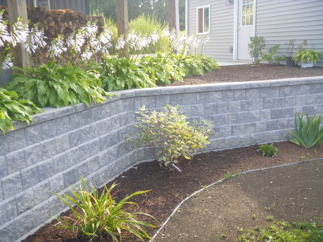 Retaining Walls Traditional Exterior Other By Marlinski Landscape Am