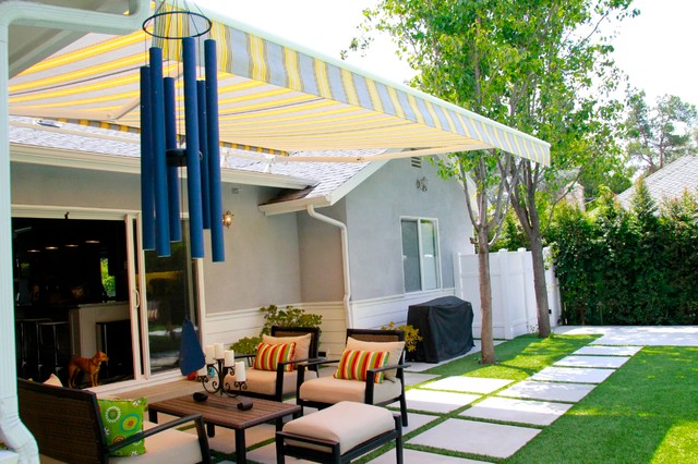 Retractable Awning - Pulley System - Exterior - Los ...