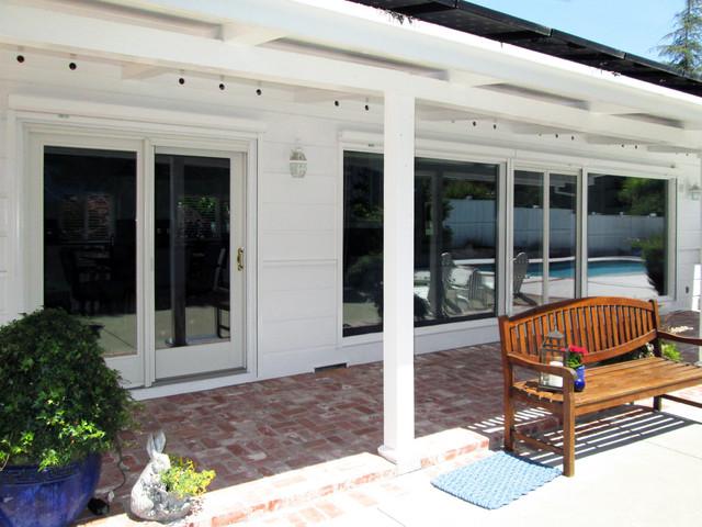 Retractable Sun Screens - Doors - Traditional - Exterior - san francisco - by European Rolling ...