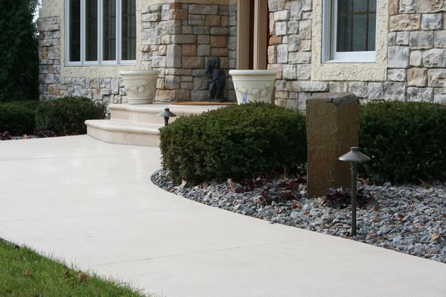 Revealed Concrete, Exposed Treatment exterior