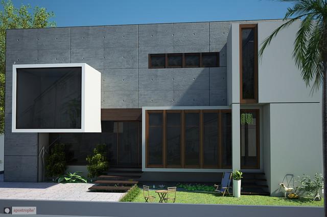 RFK Residence contemporary-exterior