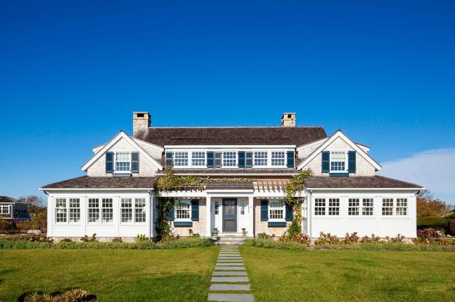 Rhode island beach house beach style exterior Beach houses in rhode island