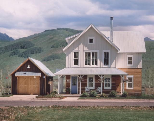 Rhubarb Crested Butte Farmhouse Exterior Denver