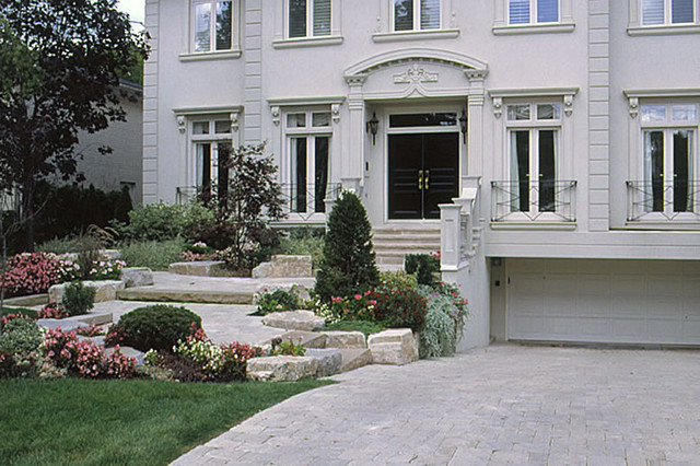 Richmond Hill Landscaping Ideas Front Entrance