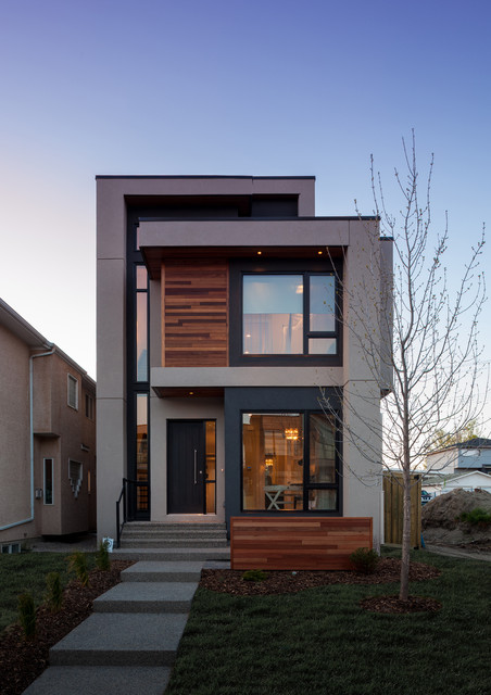 Richmond Luxury Showhome industrial-exterior