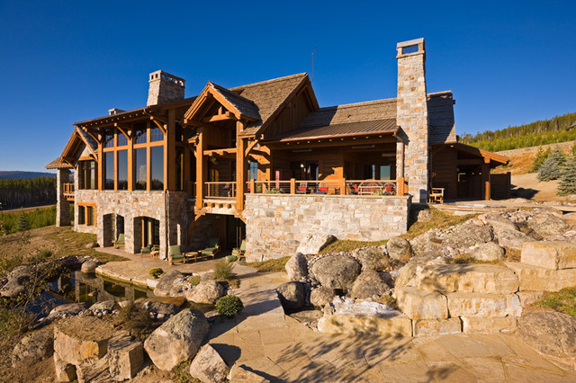 Ridge Residence traditional-exterior
