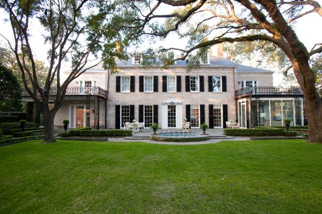 River Oaks Residence Traditional Exterior Houston