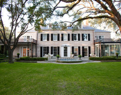 River Oaks Residence traditional exterior