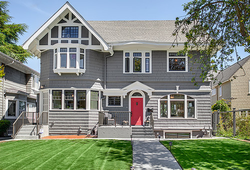 What Paint Colors Were Used For This House Exterior