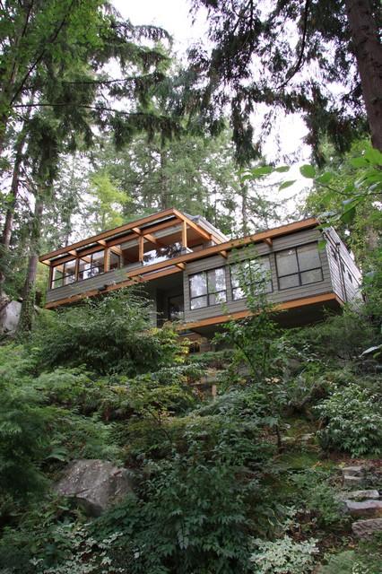 Robinson Hammett Residence contemporary-exterior