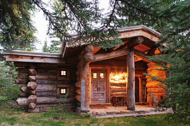 Exceptionnel Rocky Mountain Cabins Traditional Exterior