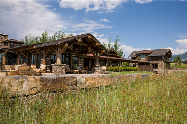 Rocky Mountain Homes Mountain Timberframe Rustic