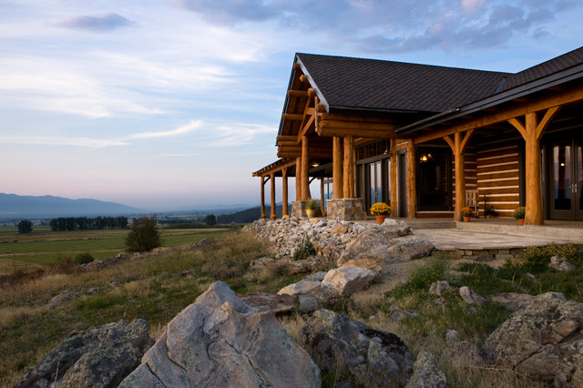 Rocky mountain log homes a place to gather for Rocky mountain home builders