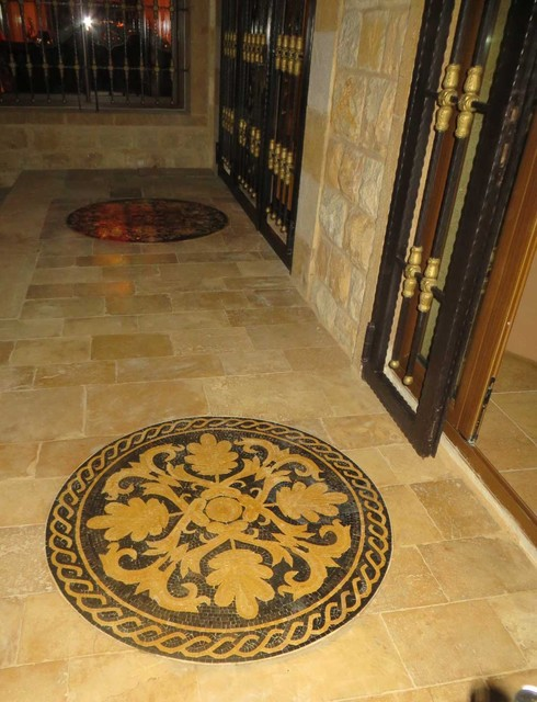 Installed Medallions traditional