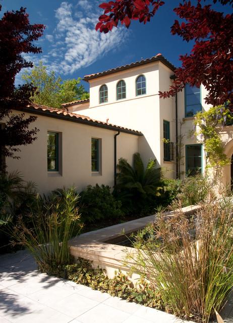 Mediterranean exterior home idea in San Francisco
