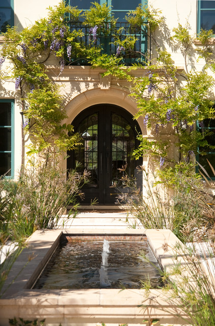 Tuscan exterior home photo in San Francisco