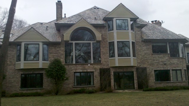 Roofing and Siding Projects - Finished exterior