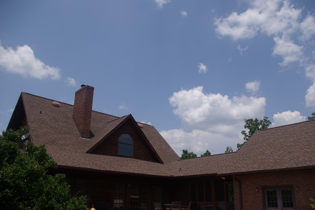 Roofing Projects traditional-exterior