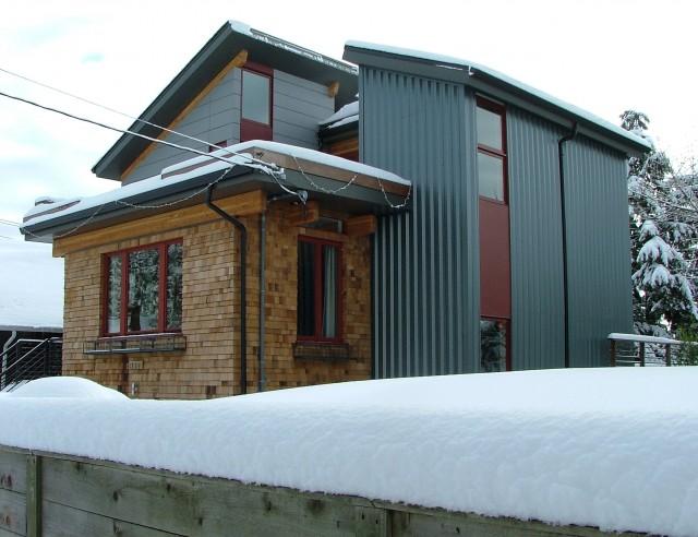 Roosevelt Residence Modern Exterior With Cedar Hardi