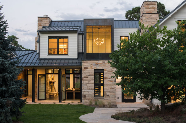 Rose Hill Contemporary Exterior By Surround Architecture Inc