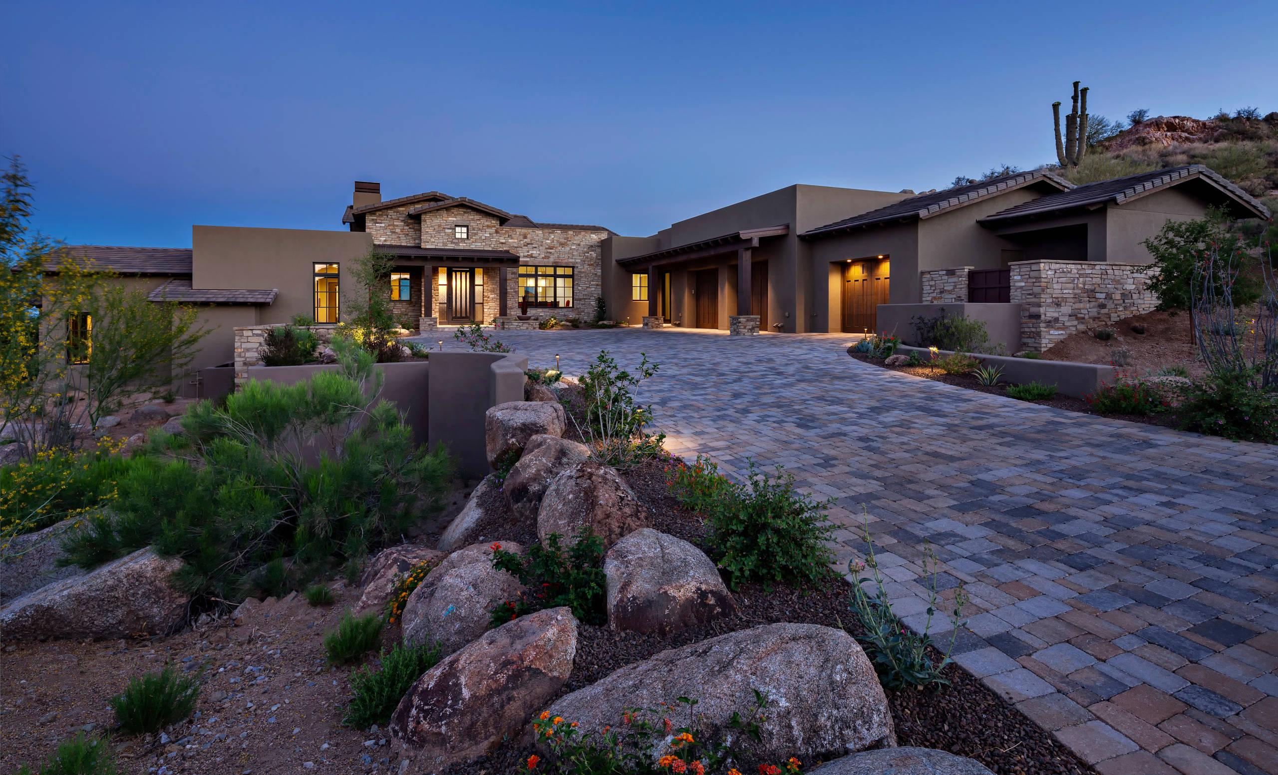 Rose Quartz house in Desert Mountain
