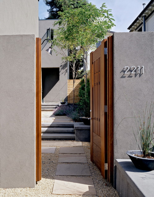 Rose Street Townhouses eclectic-exterior