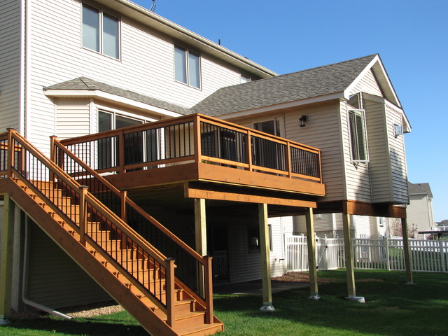 Rosemount 4 Season Porch With Deck Traditional