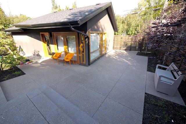 Roxboro House modern-exterior