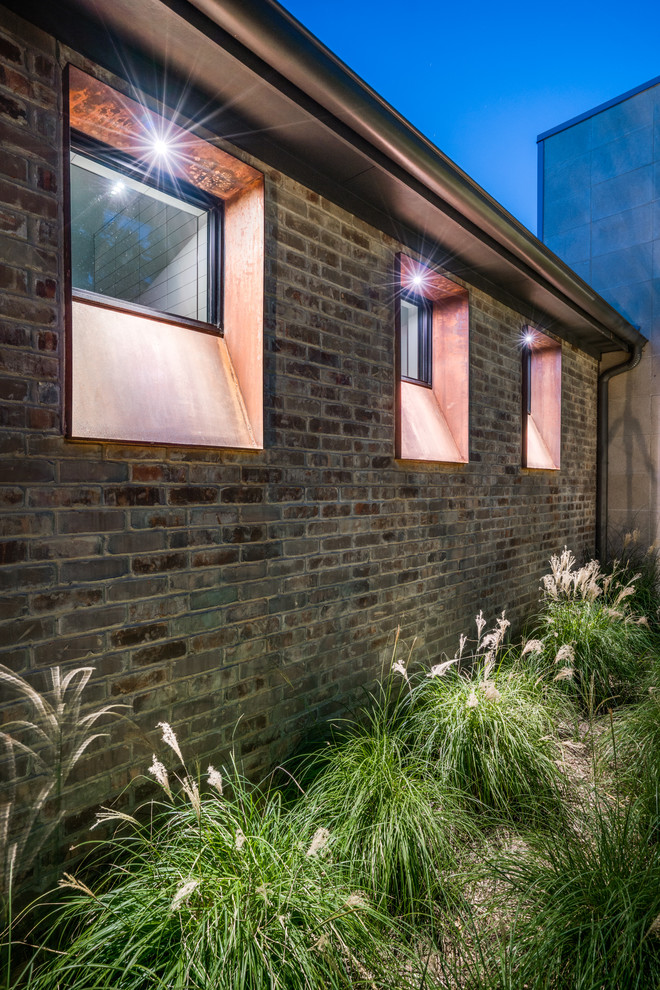 Example of a trendy exterior home design in Dallas