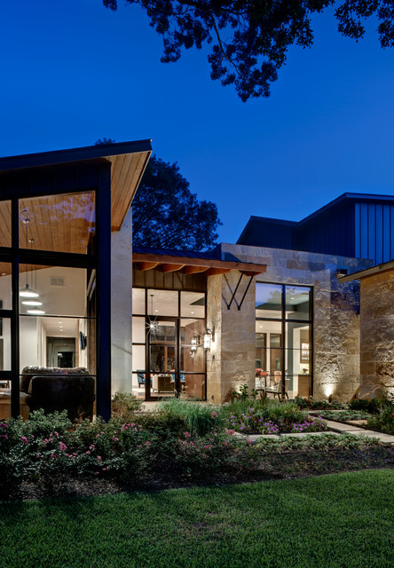 Royal Gardens Contemporary Exterior Dallas By