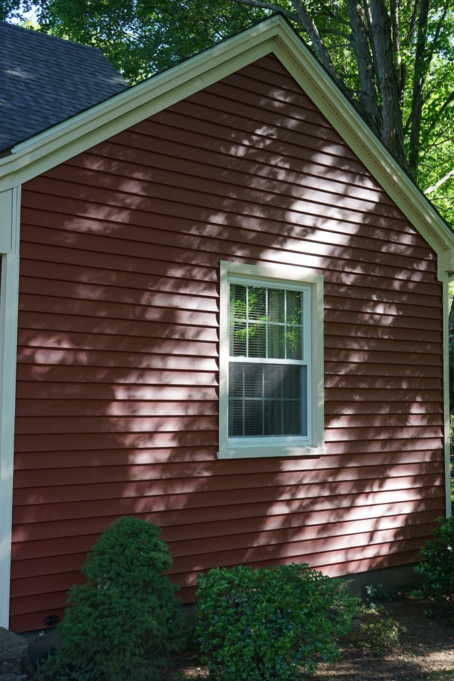 Royal Woodland Rustic Red Siding Installed By Sidetex In